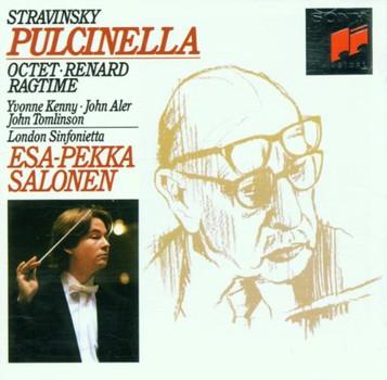 Esa-Pekka Salonen - Pulcinella / Ragtime / Renard the Fox / Octet