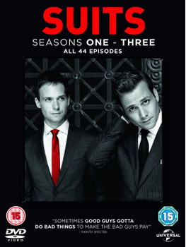 Suits: Season One-Three - All 44 Episodes [12 DVDs, UK Import]