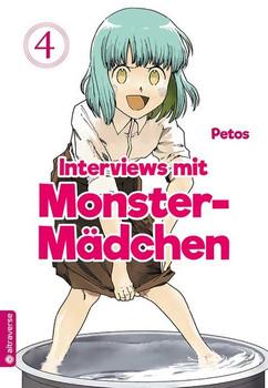 Interviews mit Monster-Mädchen 04 - Petos  [Taschenbuch]