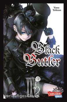 Black Butler 27 - Yana Toboso  [Taschenbuch]