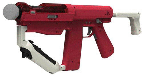 Sony PS3 Move Sharp Shooter [rot]