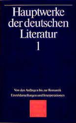 Hauptwerke der deutschen Literatur - Band 1 - Rudolf Radler