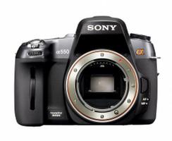 Sony Alpha 550 zwart