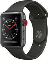 Apple Watch Series 3 42mm Caja de aluminio en gris espacial con correa deportiva gris [Wifi + Cellular]