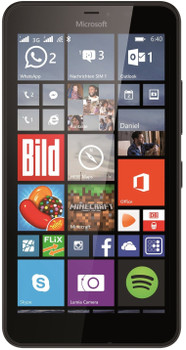 Microsoft Lumia 640 XL Dual SIM 8GB zwart