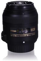 Nikon AF-S DX NIKKOR 40 mm F2.8 G 52 mm Objetivo (Montura Nikon F) negro