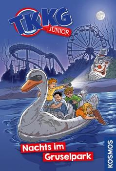 TKKG Junior, 7, Nachts im Gruselpark - Kirsten Vogel  [Gebundene Ausgabe]