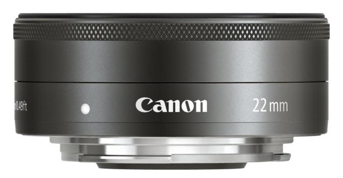 Canon EF-M 22 mm F2.0 STM 43 mm Filtergewinde (Canon EF-M Anschluss) schwarz