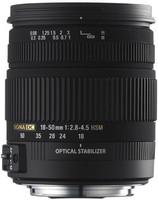 Sigma 18-50 mm F2.8-4.5 DC HSM OS 67 mm Objectif (adapté à Canon EF) noir
