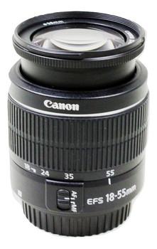 Canon EF-S 18-55 mm F3.5-5.6 III 58 mm filter (geschikt voor Canon EF-S) zwart