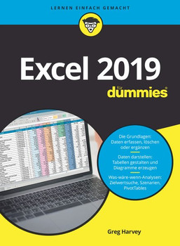 Excel 2019 für Dummies - Greg Harvey  [Taschenbuch]