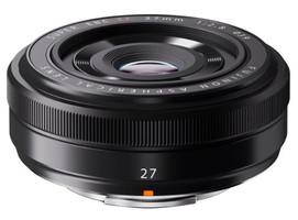 Fujifilm Fujinon X 27 mm F2.8 39 mm filter (geschikt voor Fujifilm X) zwart