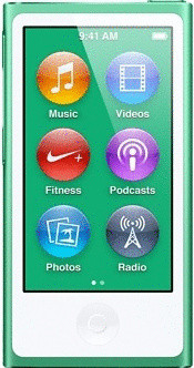 Apple iPod nano 7G 16GB groen