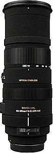 Sigma 150-500 mm F5.0-6.3 DG HSM OS 86 mm Objectif (adapté à Canon EF) noir