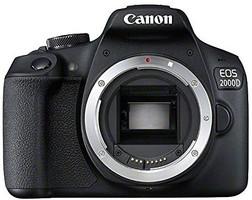 Canon EOS 2000D body noir