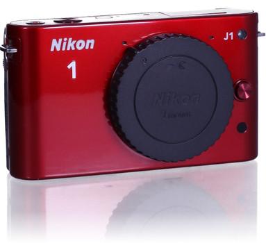 Nikon 1 J1 Systeemcamera rood
