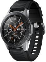 Samsung Galaxy Watch 46 mm argent et bracelet en silicone noir [Wi-Fi]