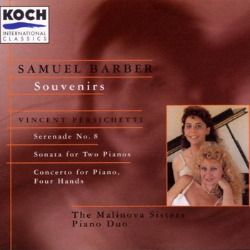 Malinova Sisters - Souvenirs, Op. 28 / Serenade 8