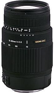Sigma 70-300 mm F4.0-5.6 DG OS 62 mm filter (geschikt voor Canon EF) zwart