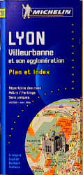 Lyon: 1:10000 (Michelin City Plans) - Michelin Travel Publications