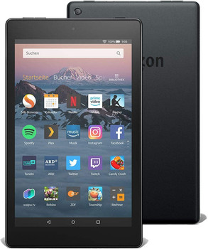 "Amazon Fire HD 8 8"" 16GB [wifi, model 2018] zwart"