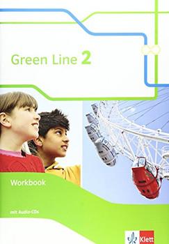 Green Line / Workbook + Audio-CD 6. Klasse - Weisshaar, Harald