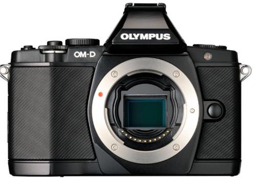 Olympus E-M5 OM-D noir