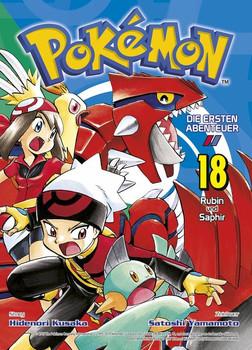 Pokémon - Die ersten Abenteuer. Bd. 18: Rubin und Saphir - Satoshi Yamamoto  [Taschenbuch]