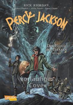Percy Jackson (Comic) 3: Der Fluch des Titanen - Rick Riordan  [Gebundene Ausgabe]