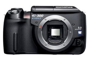 Olympus E-300 zwart