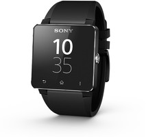 Sony SmartWatch 2 40,6 mm zwart met silicone bandje zwart
