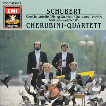 "Cherubini-Quartett - Franz Schubert: Streichquartette D. 173 & D. 804 ""Rosamunde"""