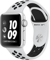 Apple Watch Nike+ Series 3 38mm cassa in alluminio argento con cinturino Nike Sport platino/nero [Wifi]