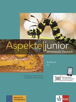 Aspekte junior C1. Mittelstufe Deutsch. Kursbuch mit Audios und Videos - Helen Schmitz  [Taschenbuch]