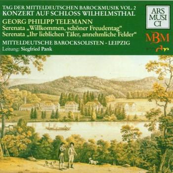 Pank - Tag der mitteldeutschen Barockmusik Vol. 2 (Konzert auf Schloß Wilhelmsthal: Werke von Telemann)