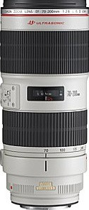 Canon EF 70-200 mm F2.8 IS L USM II 77 mm Obiettivo (compatible con Canon EF) bianco