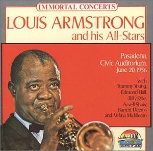 Armstrong Louis - Pasadena Civic Auditorium June
