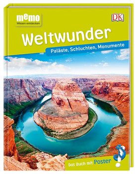 memo Wissen entdecken. Weltwunder. Paläste, Schluchten, Monumente. Das Buch mit Poster! [Gebundene Ausgabe]