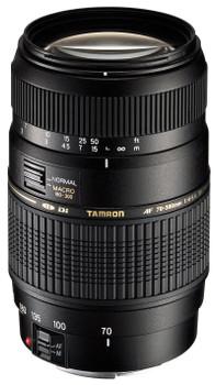 Tamron AF 70-300 mm F4.0-5.6 Di LD Macro 1:2 62 mm Obiettivo (compatible con Sony A-mount) nero