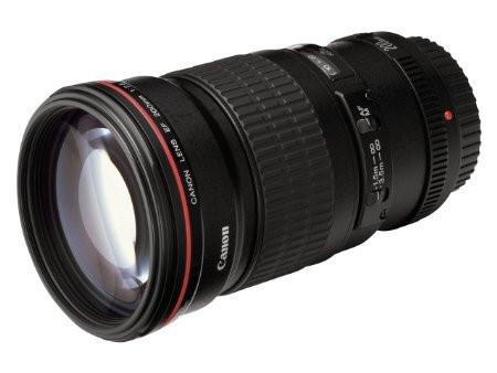 Canon EF 200 mm F2.8 L USM II 72 mm Objectif (adapté à Canon EF) noir