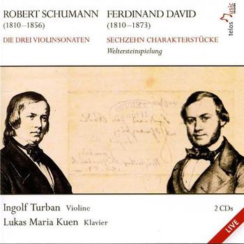 Ingolf Turban - Schumann/David: Violinsonaten