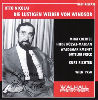 Nicolai:Lustigen Weiber Von Wi - Nicolai:Lustigen Weiber Von Wi