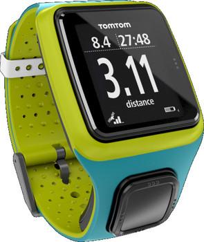 TomTom Runner turquoise & vert