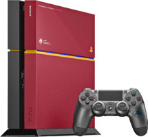 Sony PlayStation 4 500 Go [Limited Edition Metal Gear Solid V - The Phantom Pain incl. Wireless Controller, sans jeu] rouge noir