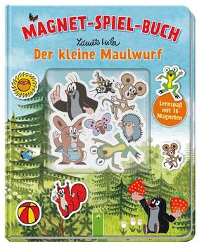 Der kleine Maulwurf Magnet-Spiel-Buch. Lernspaß mit 16 Magneten - Laura Teller  [Gebundene Ausgabe]