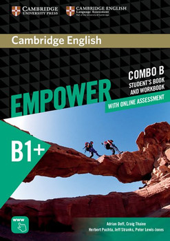 Cambridge English Empower Intermediate (B1+) Combo B. Student's book (including Online Assesment Package and Workbook) [Taschenbuch]