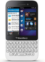 Blackberry Q5 8GB [Teclado inglés, QWERTY] blanco