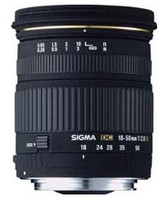 Sigma 18-50 mm F2.8 DC EX 67 mm filter (geschikt voor Canon EF) zwart