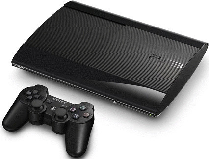 Sony PlayStation 3 super slim 12 GB SSD schwarz [inkl. Wireless Controller]
