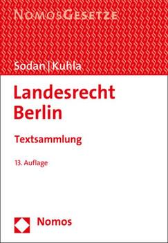 Landesrecht Berlin. Textsammlung [Taschenbuch]